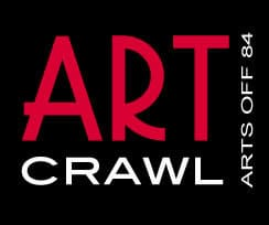 Art Crawl - Arts Off 84 Logo