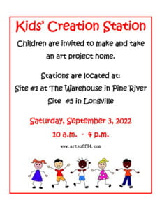 Kids' Creation Station 2022 - Reduced